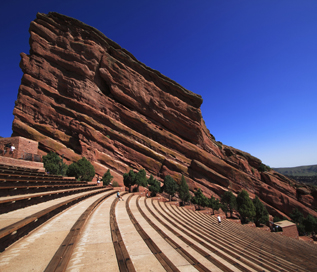Red Rocks Ampitheater in Morrison, Colorado
